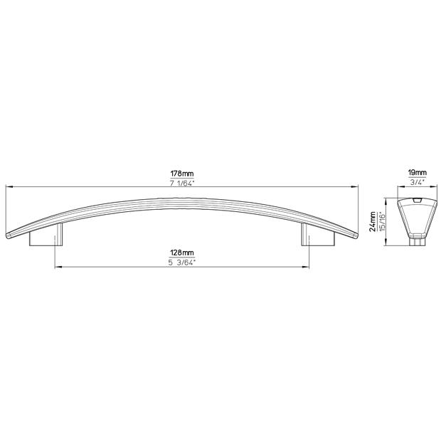 Möbelgriff 1485-178ZN40