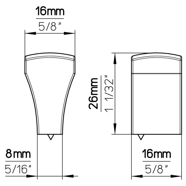 Möbelknopf 1499-16ZN5