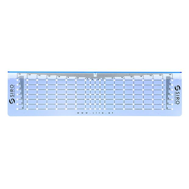 Bohrschablone H163-288A18V1K