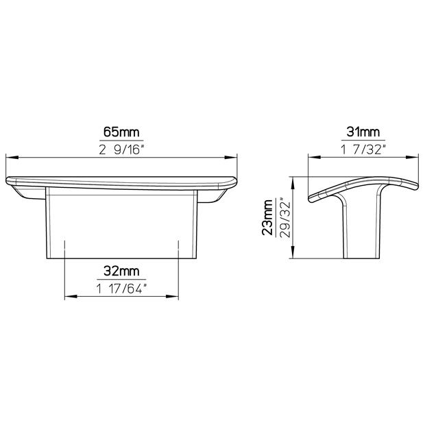 Möbelgriff 2092-65PB21