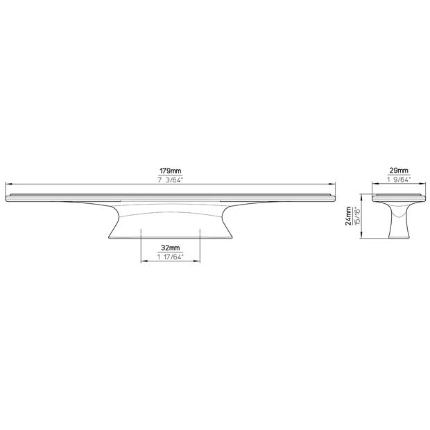 Möbelgriff 2091-179PB21
