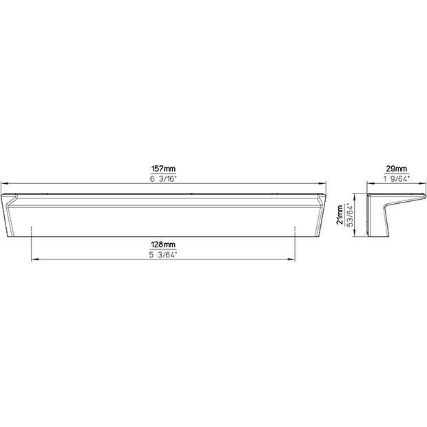 Möbelgriff 2096-157PB21
